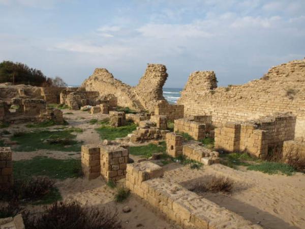 Раскопки в Ашдоде