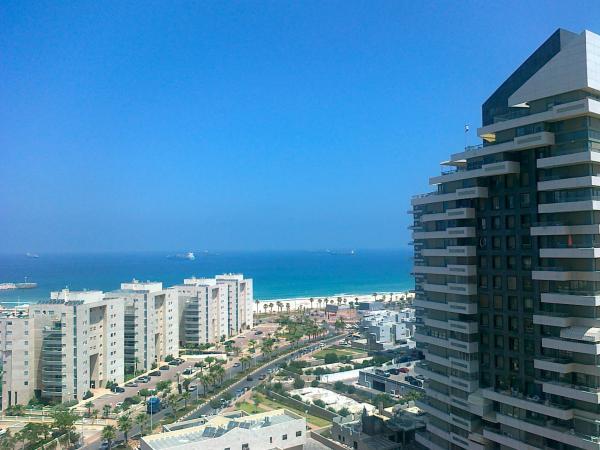 Вид на море. Ашдод. Марина
